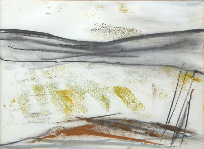 Margo Maeckelberghe, Winter Landscape, Penwith, 2000