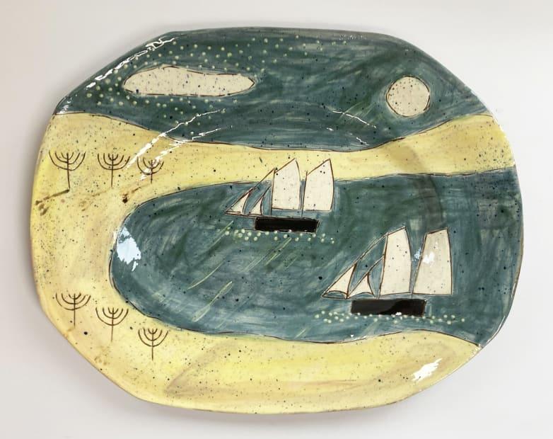 Anne Barrell, Under the Moonlight, 2021