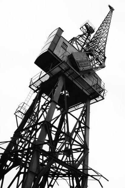 Michele Turriani, 1920s Stothert & Pitt Crane, 2020