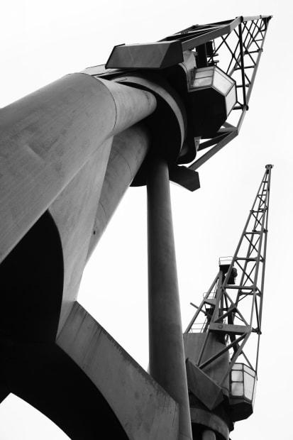 Michele Turriani, 1962 Stothert & Pitt Cranes, 2020