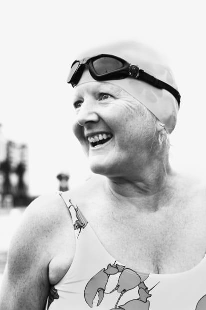 Michele Turriani, Karen - Royal Victoria Dock swimmer, 2020