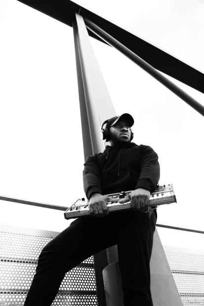 Michele Turriani, Dante - music producer, born & raised in the Royal Docks, 2020