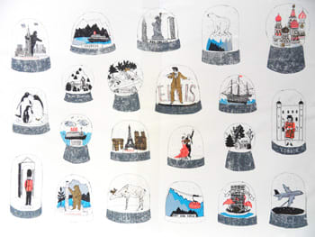 Around the World in 20 Snowglobes (& Elvis in a Gold Suit), 2010