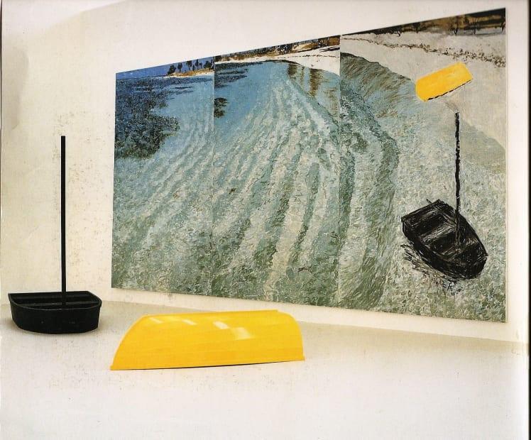Jennifer Bartlett, Yellow and Black Boats, 1985
