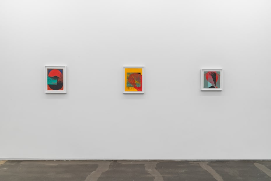 Installation view, Brittney Leeanne Williams, How Far Between and Back, 2021 at Monique Meloche Gallery.