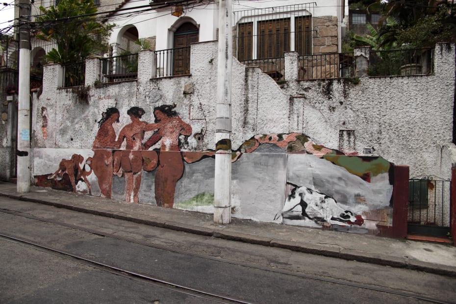 mural   Rua Paschoal Carlos Magno, Santa Teresa   Rio de Janeiro, Brasil, 2011   Foto Wilton Montenegro