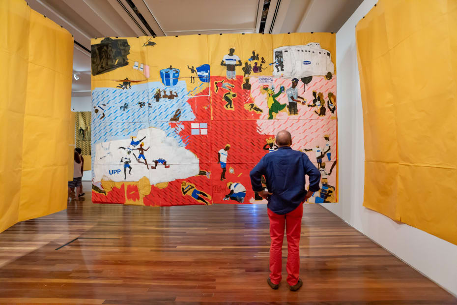 Pardo é Papel   MAR - Museu de Arte do Rio   Rio de Janeiro, Brasil, 2019