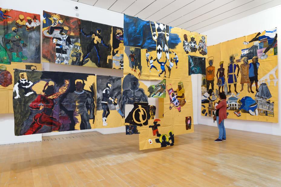 Pardo é Papel   MAC Lyon - Musée d'art contemporain de Lyon   Lyon, França, 2019