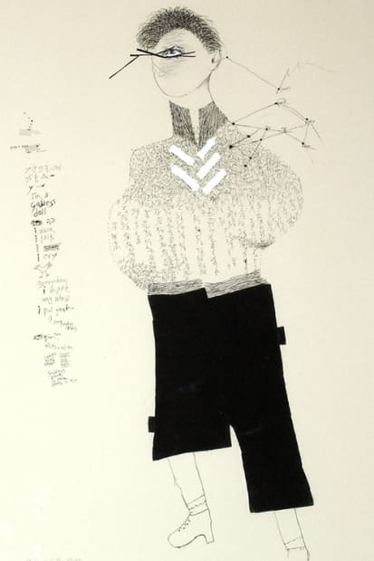 Ruth Laxson, Goddess of the Night, 2007
