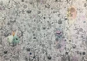 Joseph Peragine, Pink Meadow 1, 2018