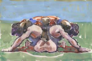 Joseph Peragine, Grappling Mandala: Hand Control, 2013