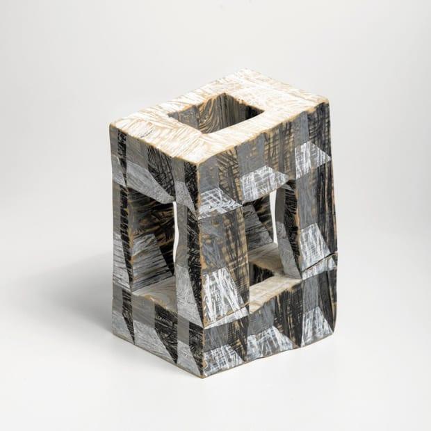 Clark Derbes, Spinning Bookcase, 2020