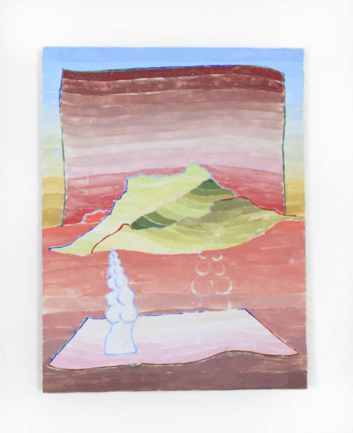 Andrea Clark, Mountain Laser Sequence 1, 2, 2018