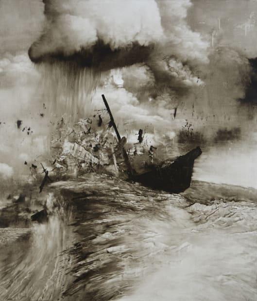 Brian Novatny, An Errant Wave, 2014
