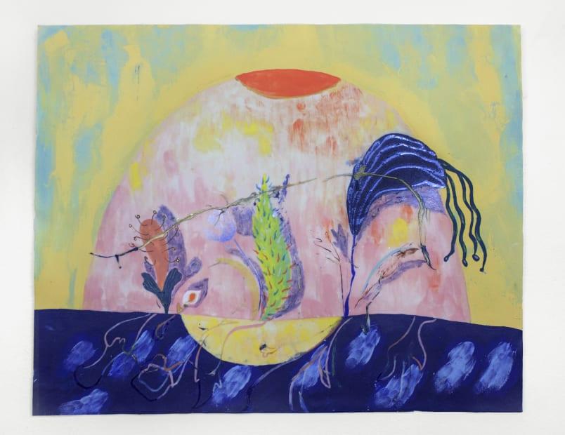 Andrea Clark, Flower Shadow, 2018