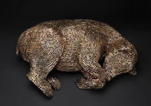 Mary Engel, Hibernating Bear, 2017