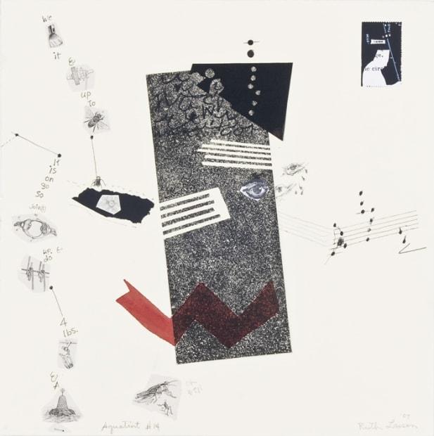 Ruth Laxson, Aquatint Series (#14), 2007