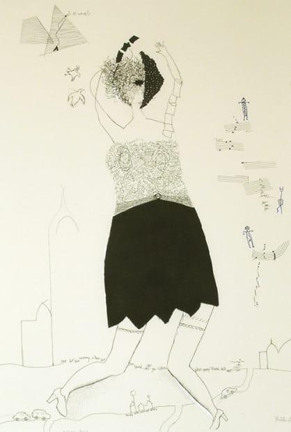 Ruth Laxson, Silken Hose, 2008