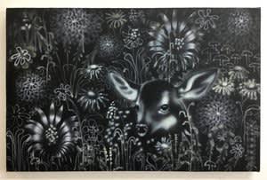 Joseph Peragine, Black Meadow Fawn , 2018