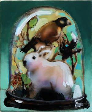 Joseph Peragine, Green Bell Jar, 2015