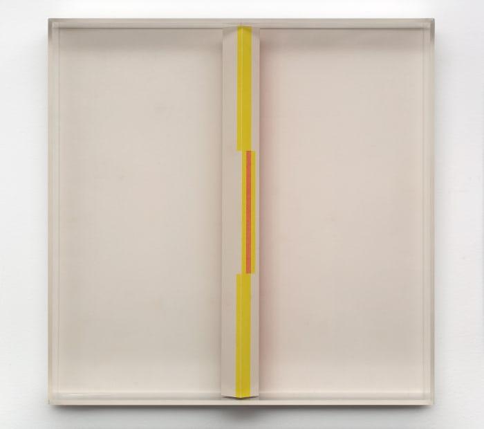 Study for Active Object (Estudo para objeto ativo) , 1950s, Gouache on paper, 28 x 28 x 7 cm