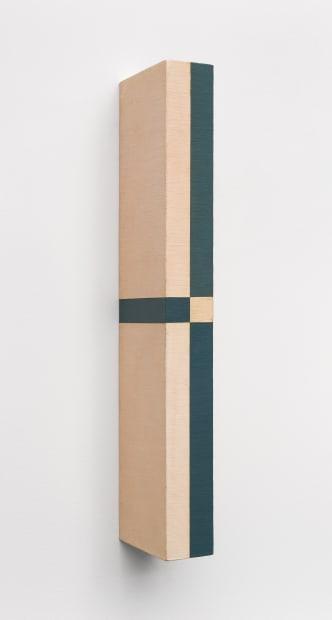 Active Object (Objeto Ativo), 1961, Canvas over wood, 36.1 x 3.4 x 8.1 cm