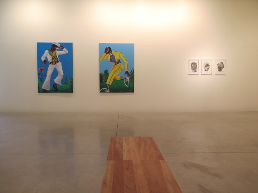 """Exposition """"Kin Babi"""" à la Galerie Cécile Fakhoury à Abidjan 2013"""