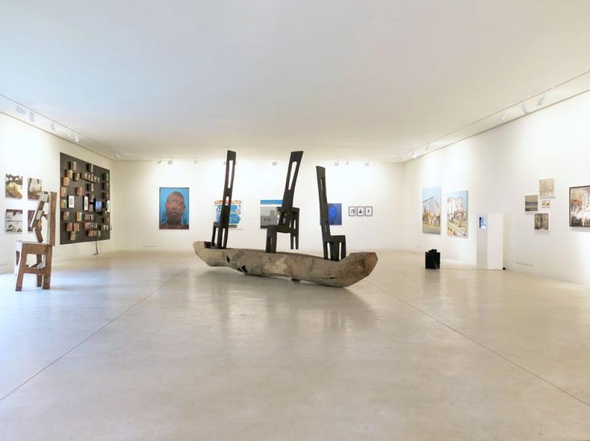 """Exposition """"Group Show"""" à la Galerie Cécile Fakhoury à Abidjan 2014"""