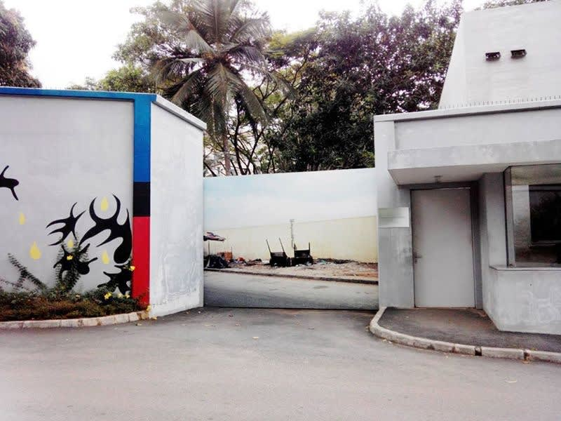 """Exposition """"Fragment"""" à la Galerie Cécile Fakhoury à Abidjan 2014 © François-Xavier Gbré"""
