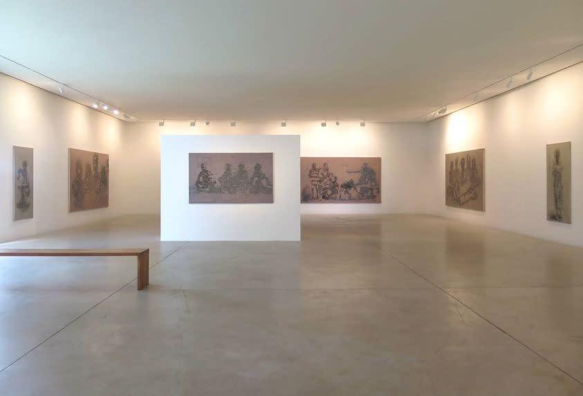 """Exposition """"persona"""" à la Galerie Cécile Fakhoury à Abidjan 2015 © Yéanzi"""
