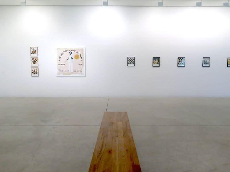 """Exposition """"De Punta a Punta"""" à la Galerie Cécile Fakhoury à Abidjan 2015 © Vincent Michéa"""