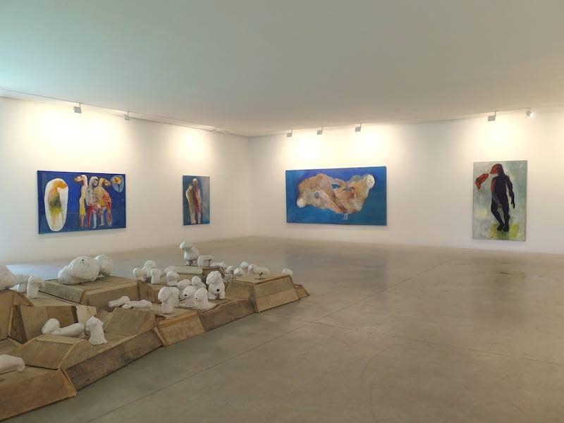 "Exposition ""Anima"" à la Galerie Cécile Fakhoury à Abidjan 2016 © Sakikou Oukpedjo"
