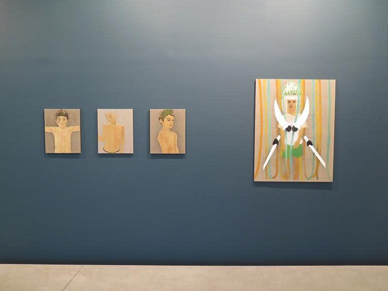 """Exposition """"in her room"""" à la Galerie Cécile Fakhoury à Abidjan 2016 © Dalila Dallléas Bouzar"""