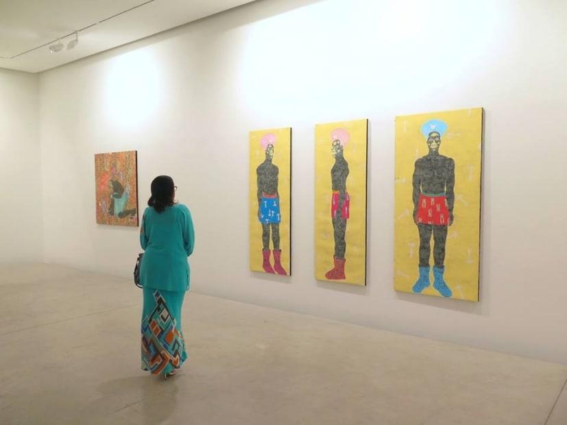 """Exposition """"Kings of the new cities"""" à la Galerie Cécile Fakhoury à Abidjan 2017 © Kassou Seydou"""