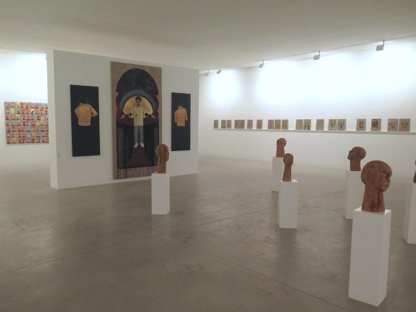 """Exposition """"Les Visionaires"""" à la Galerie Cécile Fakhoury à Abidjan 2018 © Dalila Dalléas Bouzar © Kassou Seydou © Jems Koko Bi"""