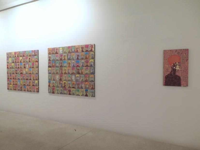 """Exposition """"Les Visionaires"""" à la Galerie Cécile Fakhoury à Abidjan 2018 © Kassou Seydou"""