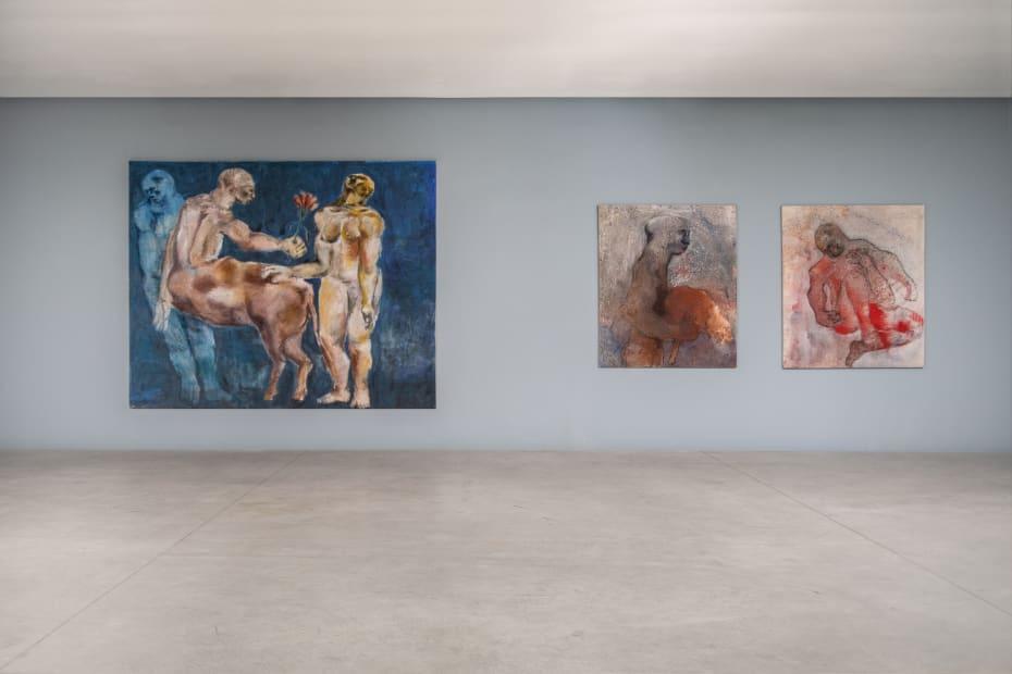 Silentium, 2019, Galerie Cécile Fakhoury - Abidjan © Sadikou Oukpedjo