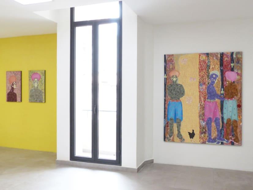 Mbindoum kaw gue, Galerie Cécile Fakhoury - Dakar 2019 © Kassou Seydou