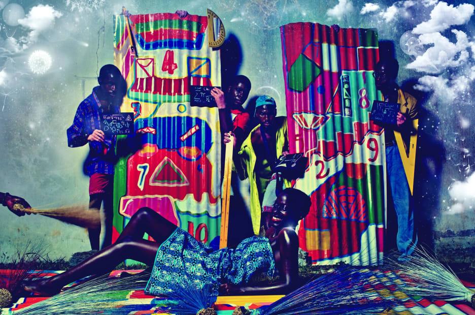 Dadelia #1, 2012, impression photographique montée sur caisson lumineux © Paul Sika
