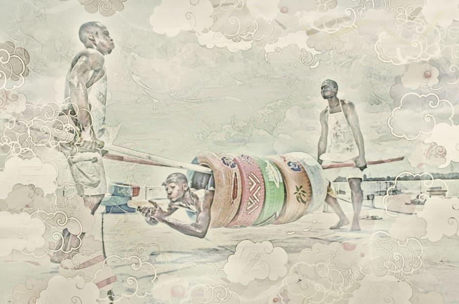 Puneu #1, 2012, impression photographique montée sur caisson lumineux © Paul Sika