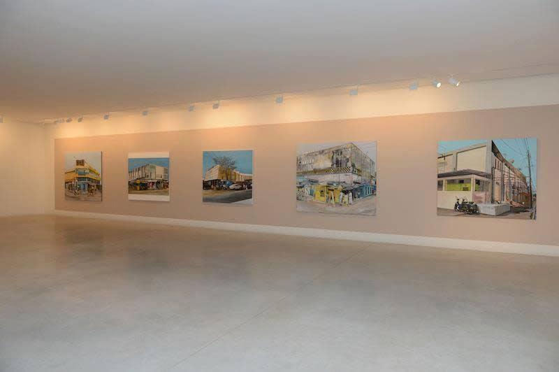 "Exposition ""(In)formal Visitation"" à la Galerie Cécile Fakhoury à Abidjan 2013 © Cheikh Ndiaye"