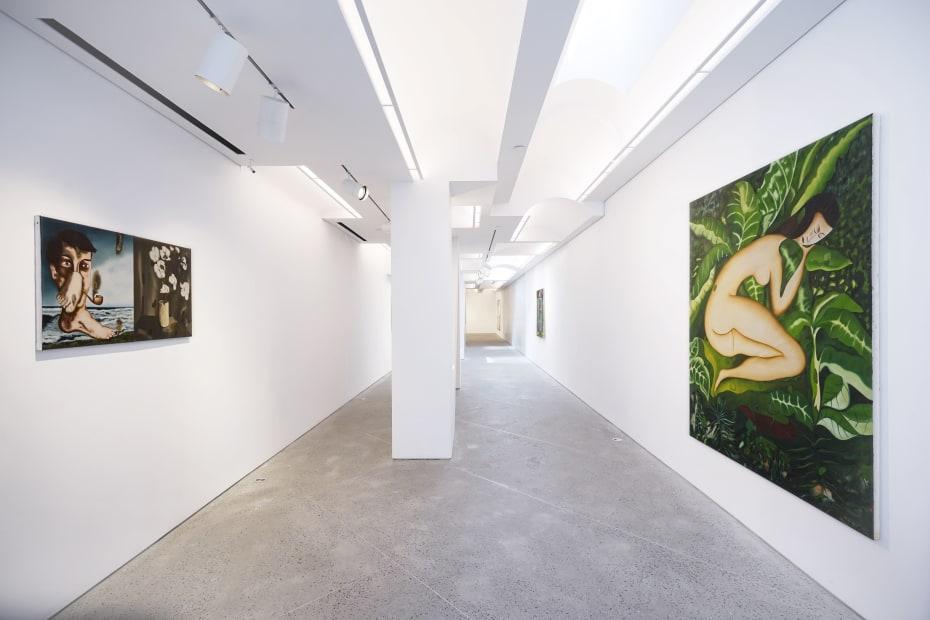 Vangelis Pliarides The Bandaged Shoulder, 2019 Installation view at Christine Park Gallery, New York Courtesy of the Artist and Christine Park Gallery © Vangelis Pliarides