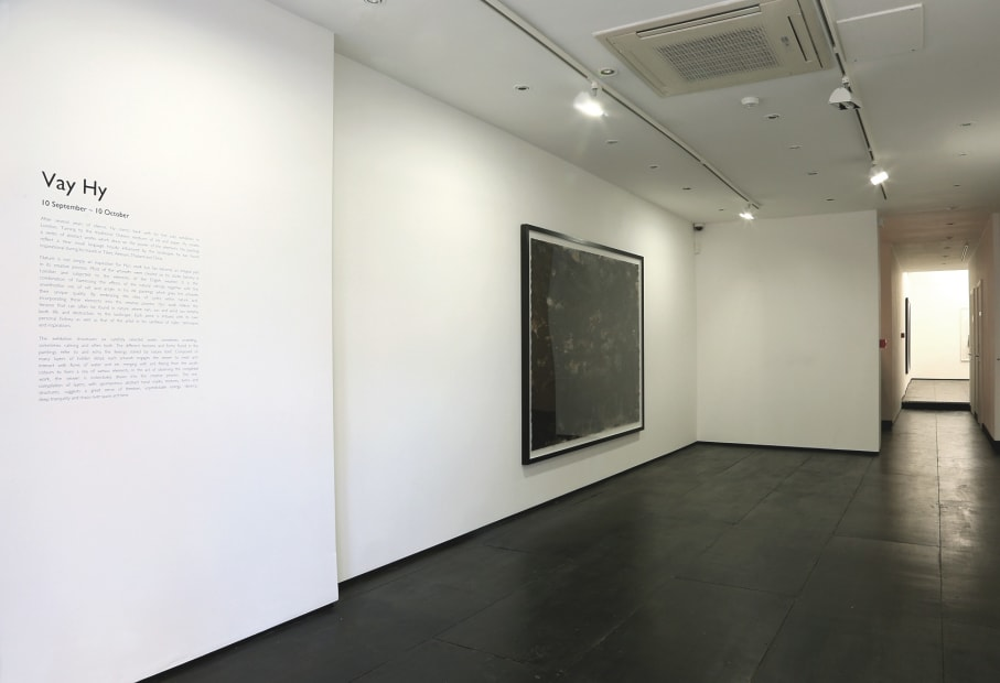 Vay Hy Installation View at Christine Park Gallery, London, 2014 Courtesy the Artist and Christine Park Gallery © Vay Hy