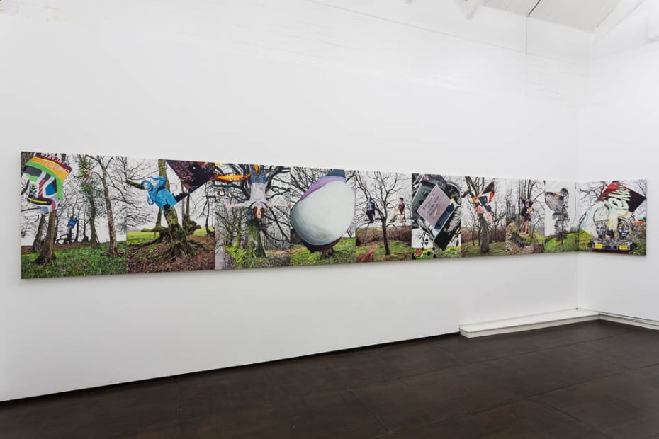 Jeremy Glogan Adieu to Old England, 2014-2015 Installation View at Christine Park Gallery, London Courtesy of the Artist and Christine Park Gallery © Jeremy Glogan