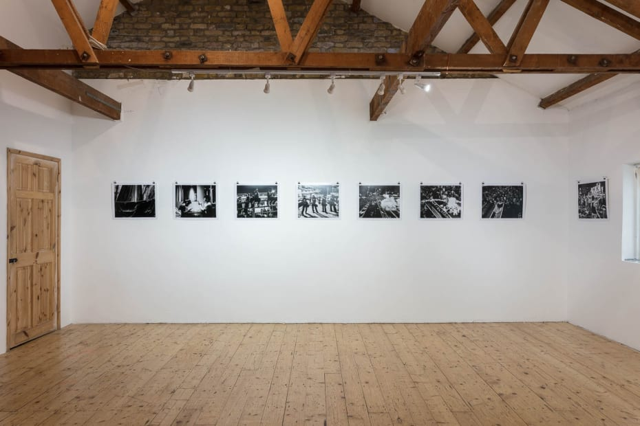 Xyza Cruz Bacani Under Represented, 2017 Installation View at Apiary Studios, London Courtesy of the Artist and Christine Park Gallery ©Xyza Cruz Bacani