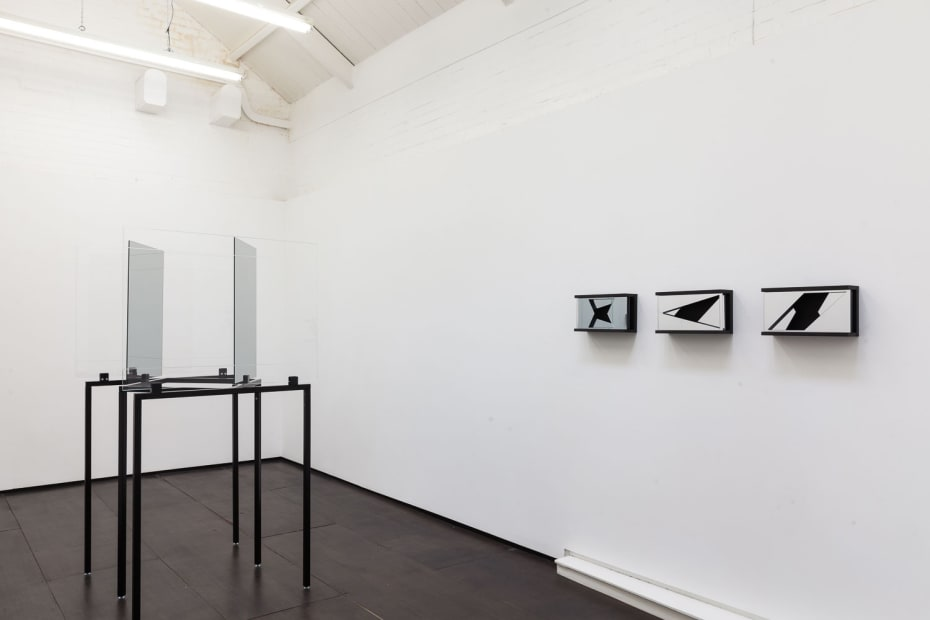 Patrik Aarnivaara Hours of Oblique Attention, 2015 Installation View at Christine Park Gallery, London Courtesy of the Artist and Christine Park Gallery © Patrick Aarnivaara
