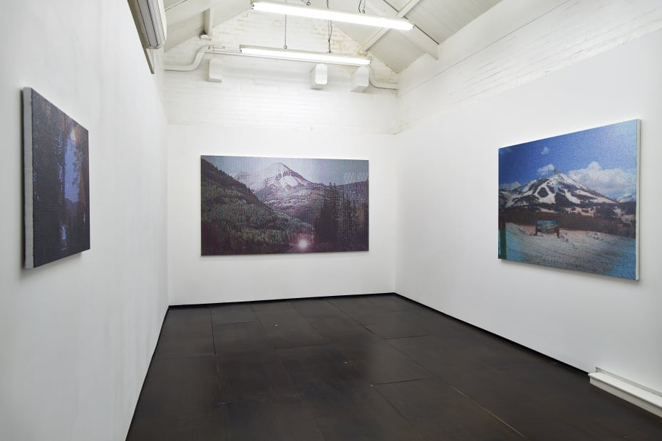 Dan Hays Interstate, 2015 Installation View at Christine Park Gallery, London Courtesy the Artist and Christine Park Gallery © Dan Hays