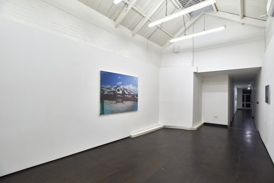 Dan Hays Interstate, 2015 Installation View at Christine Park Gallery, London Courtesy of the Artist and Christine Park Gallery © Dan Hays