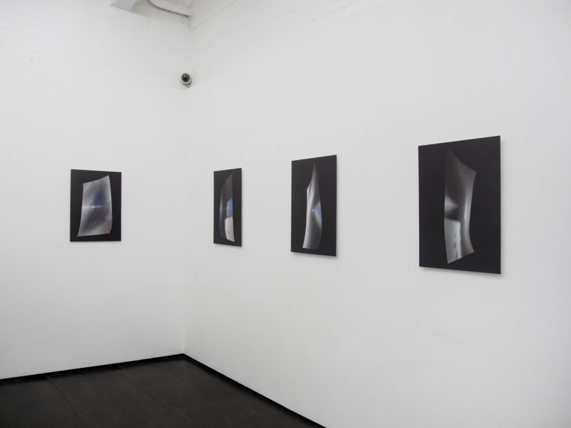 Jessica Rayner Luminous Flux, 2016 Installation View at Christine Park Gallery, London Courtesy of the Artist and Christine Park Gallery © Jessica Rayner