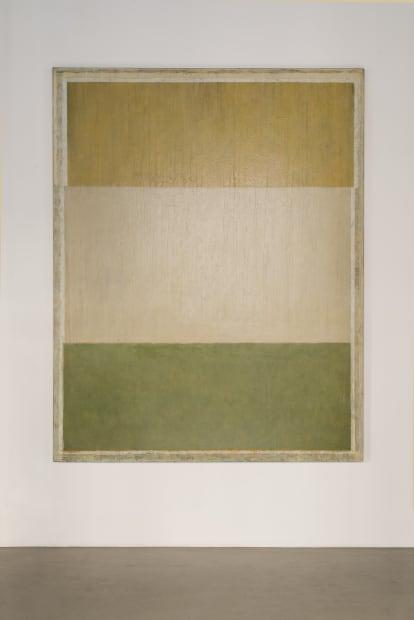 JEAN-PIERRE PINCEMIN Sans titre, 1983 Huile sur toile / Oil on canvas 250 x 198 cm / 98 3/8 x...